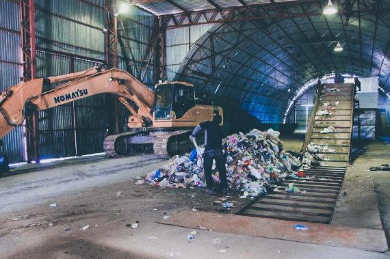 строительство мусоросортировочного комплекса